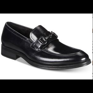 Mens Plain Slip-on style with bit Leather Loafers